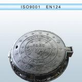 Ferro Ductile tampa de câmara de visita En124 articulada