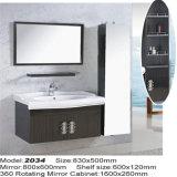 Водоустойчивые домашние шкафы раковины ванной комнаты нержавеющей стали
