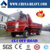 No. chino 1 4X4 mini/pequeño de descargador carro de Sinotruk