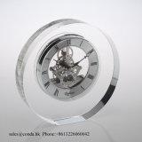 Часы M-5011 просто кристаллический украшения часов стола стеклянные