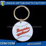 Presente feito sob encomenda profissional Keychain da lembrança do metal do logotipo