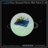 Tabouret de barre allumé par plastique de moulage de rotation matériel du PE DEL