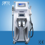 아름다움 장비는을%s 가진 기계 Shr 머리 제거 피부 회춘 RF ND YAG Laser 귀영나팔 제거 선택한다