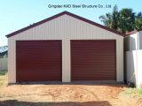 Гараж стальной структуры красного цвета высокого качества полинял (KXD-32)