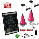 Kit chiari domestici solari di vendita della lanterna ricaricabile solare superiore della mano a energia solare nell'Egitto