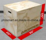 [كروسّفيت] تدريب خشبيّة [بلومتريك] طفو [بلو] صندوق