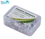 Prophy di nylon a gettare dentale spazzola a scatto affusolato (Q262T)