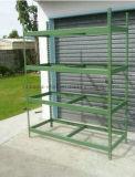 Estante de poca potencia del almacenaje del metal/estante de acero ajustable de la estantería
