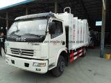 작은 새로운 6ton 쓰레기 쓰레기 압축 분쇄기 트럭