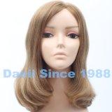 Alta parrucca chiara cinese di colore di Mutiple dei capelli umani