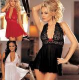 Ropa interior caliente de la ropa interior atractiva madura de las mujeres del diseño de la manera