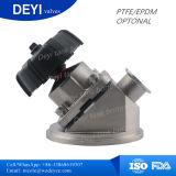 Válvula de diafragma inferior do tanque sanitário do aço inoxidável (DY-DPV105)