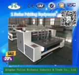 Impressora ondulada da placa de papel de 1 série (máquina de entalho)
