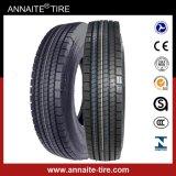 Calidad estable 11r22.5 de la venta TBR del descuento del neumático de la certificación caliente del PUNTO
