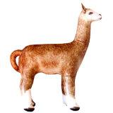 庭PVCまたはTPUの膨脹可能なアルパカの巨大な動物の表示