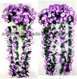 Funeral nupcial Natal aniversário sintéticas ao ar livre do casamento flores artificiais falsos