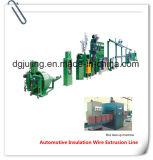 Ligne automobile d'extrusion de fil d'isolation (machine d'extrudeuse de Cable&Wire)