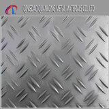 3003 5 바 4X8 다이아몬드 Checkered 장 알루미늄 미끄럼 방지 격판덮개