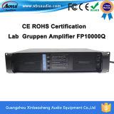 Amplificador audio Fp10000q del poder más elevado profesional del modo del interruptor de canal 4
