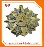 Medalla modificada para requisitos particulares promoción del metal del diseño del grabado 3D