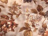 Velours gravé en relief par Fabric/100%Polyester estampé de sofa (PR015)