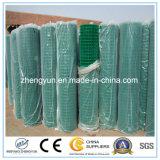 Engranzamento de fio soldado revestido PVC da alta qualidade