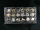 Ясные устранимые пластичные отверстия подноса 30 яичка триперсток Clamshell контейнера яичка триперсток