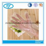 Guantes plásticos disponibles del PE de la industria alimentaria
