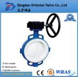 Feito em China, válvula de borboleta da bolacha da alta qualidade da precisão do OEM de Alibaba Dn450 com preço