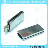 Alumínio Casing Sliding Design USB Flash Drive (ZYF1118)