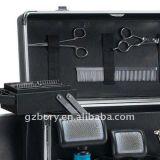 알루미늄 Makeup Hair 및 Pageant Cosmetic Train Case Travel Kit Box