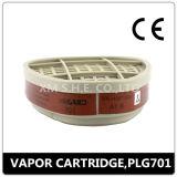 Cartuchos activados filtro del carbón del reemplazo de la careta antigás (PLG 7001)