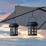 Luces colgantes al aire libre solares colgantes de la linterna del paraguas