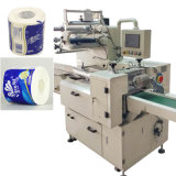 Empaquetadora del papel higiénico del rodillo automático completo del tejido