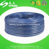 Belüftung-flexible Plastikfaser geflochtener verstärkter Wasser-hydraulischer Garten-Bewässerung-Rohr-Schlauch mit Befestigung