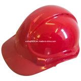 T Ypes del casco de seguridad con ventilación en la tapa (HLNP-1) / Ce EN397 Aprobado alta densidad industrial de polipropileno Shell Casco