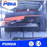 Prix hydraulique automatique de machine de presse de poinçon de tourelle de commande numérique par ordinateur de la CE de la plaque en acier