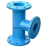 Adaptateur rapide de bride de fer malléable pour la pipe de PVC/PE
