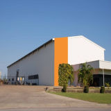 プレハブの金属フレームの鉄骨構造の倉庫