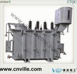 transformador de potencia de la Ninguno-Excitación del Tres-Enrollamiento de 6.3mva que golpea ligeramente 110kv