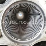 Fábrica de aço inoxidável 304 Wedge Wire Johnson pipeteador de filtro de tela para perfuração de poços