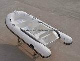 Venta inflable material del barco del PVC del pequeño barco de lujo de la costilla de Liya