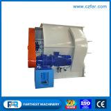 Máquina de mistura do eixo do dobro do moinho de alimentação do animal do preço de grosso