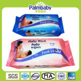 Chiffons humides de bébé jetable, tissu humide de soins de la peau de bébé (BW-047)