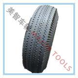 Roda do Wheelbarrow; Raios pneumáticos de alumínio da roda de 10 polegadas