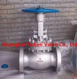 Válvula de globo de solda de aço inoxidável de alta pressão