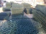 Gabbia galvanizzata della pietra della rete metallica della casella di Gabion con buona qualità