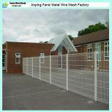 Remplissage de clôture en maille soudée revêtue de PVC galvanisé