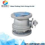 Vávula de bola da alta temperatura de flotación del asiento del metal