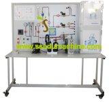 Wärmetauscher in den Abkühlung-Kreisläuf-pädagogischen Ausbildungsanlageen